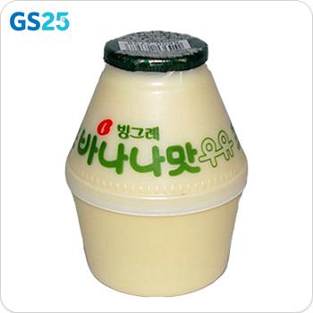 GS25_빙그레)바나나우유240ML